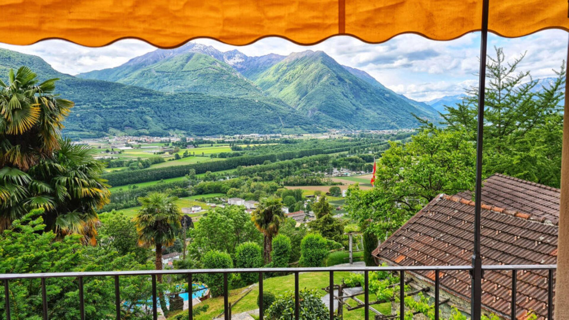Tenuta Casa Cima, Room with a view